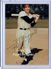 PHIL RIZZUTO'S THE NATIONAL PASTIME - Pack-pulled Autograph Card - Phil Rizzuto