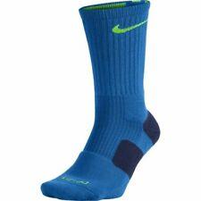 Nike Men's Blue Elite Basketball Quarter Length Socks 4003 Size L