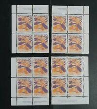 1976 CANADA 20c 4x pairs MNH