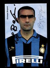 Guiseppe Bergomi Autogrammkarte Inter Mailand  Original Signiert+A 152775