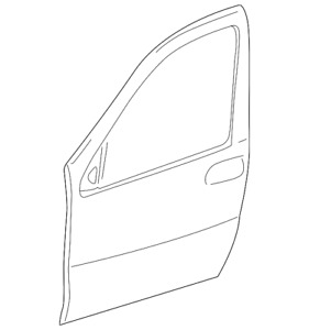 Genuine GM Outer Panel 15250062