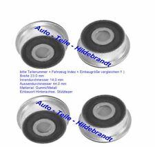 09087 4x Querlenkerlager Febi Hinterachse für Audi V8 100 200 A6 Febi 09086