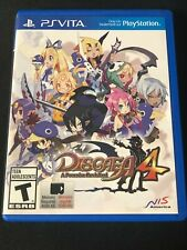 Disgaea 4: A Promise Revisited (Sony PlayStation Vita, 2014) Good!
