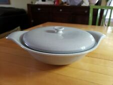 RUSSEL WRIGHT STEUBENVILLE VINTAGE mid century modern. GRAY covered bowl