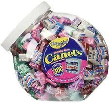 Canel's The Original Chewing Gum 6 Flavors Assortment 300 Count Tub NET WT 3 Lb