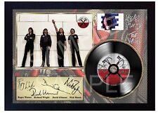 Pink Floyd The Wall MUSIC  SIGNED FRAMED PHOTO LP Vinyl
