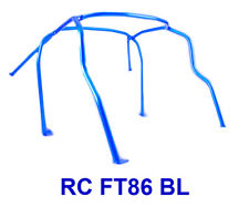 For 2013-2015 Subaru BRZ/Scion FR-S BLUE 6 Point Anti Roll Cage