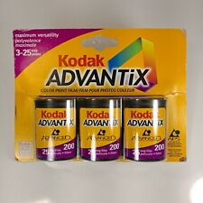 Kodak Advantix 3 Pack Aps Color Print Film 74 Photos Iso 200 Expired 02/2002 New