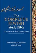 The Complete Jewish Study Bible, Flexisoft Leather,   Dark Blue