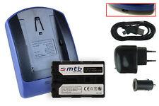 Baterìa+Cargador (USB) NP-FM500H para Sony (?, Alpha) SLT-A77, A99