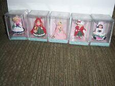 Hallmark Keepsake Madame Alexander Merry Miniatures Set Of Five 2000-2001