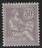 France - Yvert # 128, Scott # 136 - Mint OG Very Lightly Hinged       $250