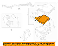 FORD OEM 10-14 Mustang Engine-Air Filter AR3Z9601B