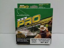 Cortland Wf-8-F 333 Pro Series Trout Yellow Floating Rocket Taper New Fly Line