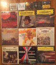 ANTONIN DVORAK LP/CD LOT Kubelik Kondrashin Davis Slatkin Symphony New World...