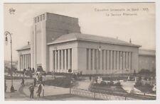 Gand Exhibition 1913 postcard - La Section Allemande