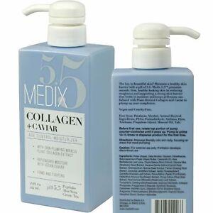 Medix 5.5 Collagen + Caviar Age Control Moisturizer Cream 15 Fl Oz (444mL)
