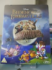 Blu ray steelbook Disney L'Apprentie sorcière Bedknobs & Broomsticks New Neuf VF