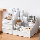 Plastic Cosmetic Organizer Makeup Case Holder Drawers Jewelry Storage Desk Tidy