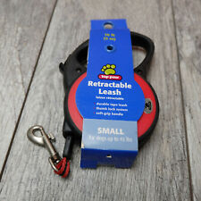 Top Paw Retractable Red Tape Dog Leash Small Up to 45 lbs – NEW