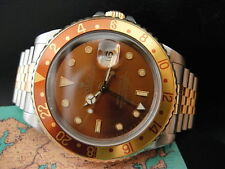 ROLEX - GMT II - Steel and 18k Gold Model 16713 - circa 1991