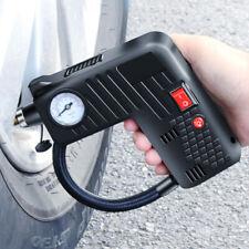 12V Portable Air Compressor Cordless Electric Auto Car Bike Tire Inflator Pump