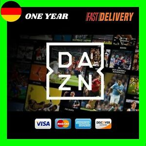 DAZN Germany✅ Football Germany ✅ 1 Years Membership All Sports✅