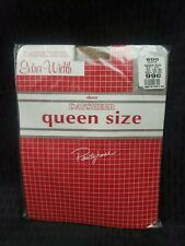 Vintage Daysheer Queen Size Suntan Pantyhose Extra Width