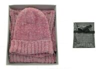 Womens Hat and Infinity Scarf Set Casual Winter One Size