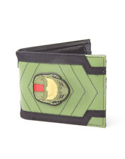 OFFICIAL HALO MASTER CHIEF HELMET RUBBER PATCH BI-FOLD WALLET (OFFICIAL)