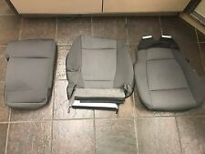 OEM 2015-2017 Ford F150 Grey Crew Cab Cloth Seat Covers