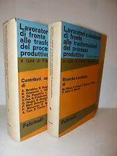 Lavoro - Momigliano: Lavoratori Sindacati Processo Produttivo 1963 Feltrinelli