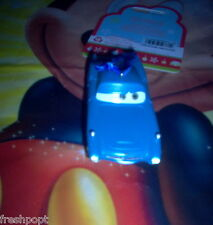 DISNEY CARS 2 Spy Finn McMissile Christmas TREE ORNAMENT Light UP Holiday NEW