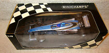 1999 TEST CAR F1 Formula1 JACQUES VILLENEUVE AUTOGRAPHED  BAR ONE  MINICHAMPS