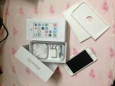 New Apple iPhone 5S 64GB Silver & White T-Mobile Clean IMEI Simple Mobile *GIFT*