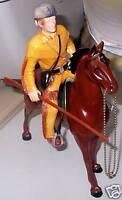 1960's Davy Crockett Hartland Statue and Horse