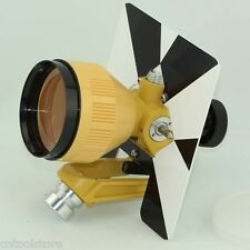 Yellow Single Prism For Tocon Nikon Pentax Total Station