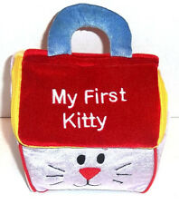 GUND My First Kitty Plush Cat House Handled Carrier