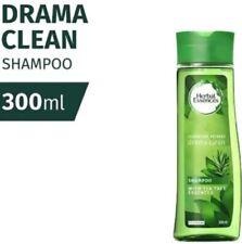 CLAIROL HERBAL ESSENCES Drama Clean Shampoo 300ml-Refresh Normal and Oily Hair