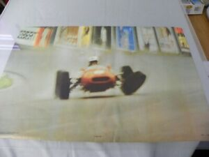 Race Track 1968 MGM Personality Posters UK 19x29 Thick Stock Paper Vintage