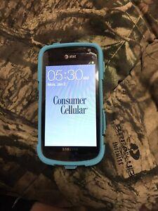 Samsung SGH-1577 4GB AT&T/Consumer Cellular Black Unlocked