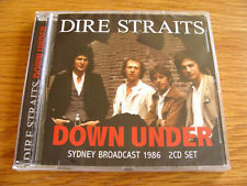 CD Double: Dire Straits : Down Under - Live Sydney Broadcast 1986 : 2 CDs Sealed