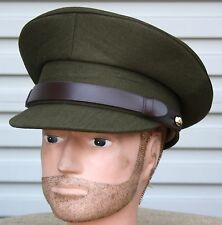 AUSTRALIAN ARMY ISSUE PEAK CAP - NEW MINT IN BAG KHAKI - NEW OLD STOCK