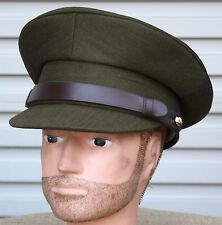 AUSSIE ARMY ISSUE PEAK CAP - NEW MINT IN BAG KHAKI
