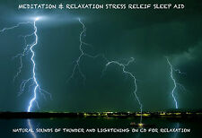RELAXING SOUNDS OF TROPICAL STORM CD RELAXATION MEDITATION STRESS SLEEP 135a