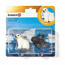 Schleich Esel,Ferkel,Dalmatiner,Hase,Lamm,Huhn,Robbe Farm Life Babies Figuren