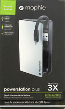 mophie Powerstation Plus 3x With Micro USB Black
