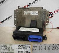 Renault Laguna 1993-1999 2.0 16v ECU SET UCH BCM Immobiliser + Key Fob