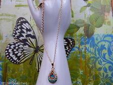 Liebe & Herzen mit Tropfen-Modeschmuck-Halsketten