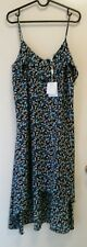 NEW Wayne Cooper Leaf print slip dress, size 12